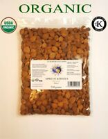 Apricot Kernels Bitter Certified Organic Kosher and Naturally Dried - 250 GRAMS