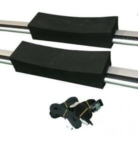 NEW Pro Kayaks ruk Foam Kayak Roof Rack Cradle Blocks w/ Straps