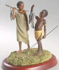 Thomas Blackshear GOOD CATCH Ebony Boys Fishing Figurine 1st Issue 802849 New