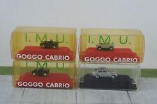 4 Goggo - Volvo Metal Cars Made in Germany Vintage 1:160 (N1)