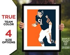 DICK BUTKUS Photo Picture CHICAGO BEARS Football Art 8x10 11x14 11x17 or 16x20