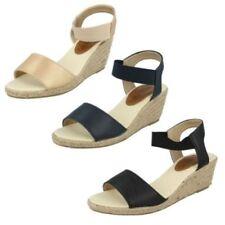 Zapatos de tacón de mujer plataformas de color principal oro Talla 39
