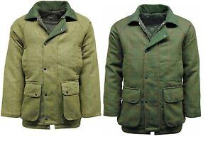 Men's Hereford Tweed Jacket Coat Hunting Shooting Fishing Tweed Jackets New