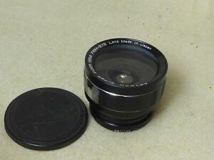 Astron Super Wide Semi Fish Eye Lens Camera Film Digital 55mm 52mm etc
