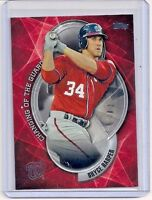 2016 TOPPS CHANGING OF THE GUARD #CTG3 BRYCE HARPER