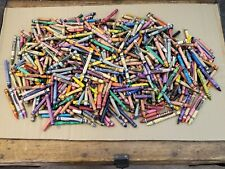 Lot of 5-1/2 Lbs Bulk Broken Used/New Crayons - Melting, Crafts, Home School