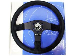 Sparco Steering Wheel - R375 (350mm/36mm Dish/Suede)