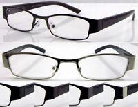 L420 Superb Quality Mens Reading Glasses/Spring Hinge/Simply Modern Style Design