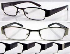 L420 Men's Metal Reading Glasses/Spring Hinges/Simply Modern Style Designed  ***