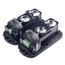 1Pair 100m Dual Beam IR Infrared Detector Module Burglar Alarm Home Security NEW