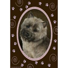 Paws House Flag - Brindle Cairn Terrier 17326