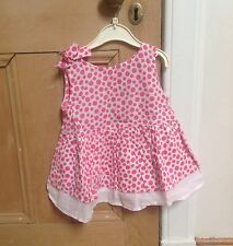 Benetton Summer Tunic Top, 2-3y Pink