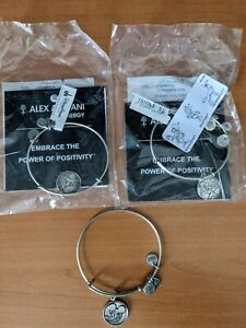 Alex and Ani Disney Silver Retired Lot Donald Duck Sorcerer Mickey 2014 2012