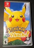 Pokemon Let's Go Pikachu (Nintendo Switch) NEW