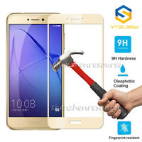 9H+ Full Covered Premium Tempered Glass Screen Protector For Huawei P8 Lite 2017