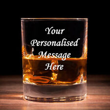 Personalised Whisky Glass with Gift Box