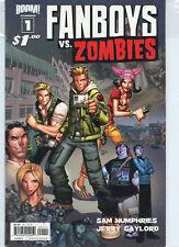 Fanboys vs Zombies 1E VF 2012 Stock Image