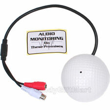 High Sensitive Preamp Audio Microphone for CCTV Surveillance Security Camera A90