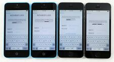 4 LOT Apple iPhone - 5s & 5c Smartphones - FOR PARTS