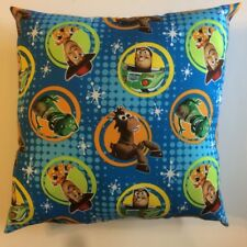 INCREDIBLE 15 x 15 DISNEY'S TOY STORY 1 2 3 COMPLETE COTTON PILLOWS - 3 STYLES