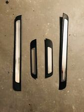 Original Audi Einstiegsleisten Audi A4, 4-teilig, Ziereinlage Aluminium