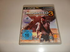 PlayStation 3 PS 3 Uncharted 3: Drake 's decepción