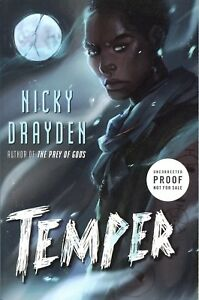 Nicky Drayden TEMPER Uncorrected Proof NEW