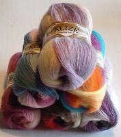 Lot 2 Angora Gold Batik yarn wool 20% 100g 601yd Choise colors Turkey