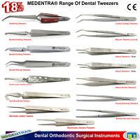 MEDENTRA® Orthodontic Surgical Veterinary Dental Tweezers Bracket Tooth Forceps