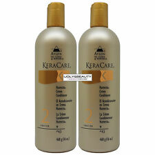 "Keracare Humecto Creme Conditioner 16 oz ""Pack of 2"" with Free Gift"