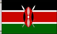 Kenya 3x5 FLAG - Brand NEW Kenyan Banner - 90x150 CM