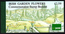 Flowers Irish Carden Flowers Complete Booklet Scott 811a & 813a MNH Panes