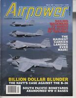 Airpower Magazine - March 1997  - PN-9 plane , South Pacific Boneyards , WWII
