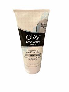 OLAY Regenerist LUMINOUS Brightening Skin Cream Cleanser for Face Exfoliate 5 Oz
