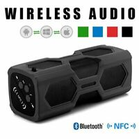 Portable Wireless Bluetooth Speaker Hi-Fi Bass Stereo Subwoofer NFC SD FM Radio