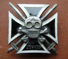 Polish Army ,,Husars of Death,, Cross 1920.Polish-Soviet War.