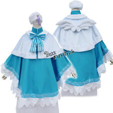 Love Live Tojo Nozomi Maid Dress Cosplay Costumes Lovely Flügeln Style 2016 Blau