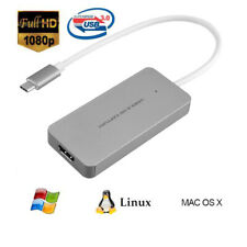 HDMI to Type C USB 3.0 Game Video Capture Card Device 1080P 60fps Live Streaming