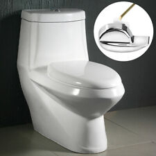 Side Mount Toilet Flush Lever Handle For Angle Fitting Bathroom Toilet Tank