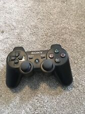 Used Sony OEM Dualshock 3 Wireless Controller Black PlayStation 3 Remote PS3