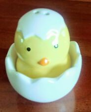 Chick And Egg Salt And Pepper Shakers, Ceramic, Spring, from Pier 1 Nwt