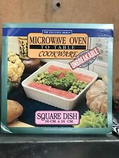 Brand New Microwave Oven To Table Square Dish