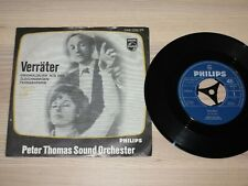 """PETER THOMAS SOUND ORCHESTER 7"""" SINGLE - VERRÄTER OST / 346056 PF in MINT"""