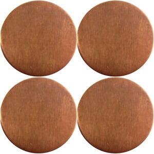 0.9mm Copper Metal discs - 43mm 50mm 60mm 80mm - ROUND BLANK COPPER DISCS