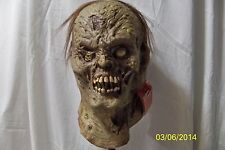 ZOMBINSKI ZOMBIE HORROR OOZE HALLOWEEN FULL LATEX MASK COSTUME MA13