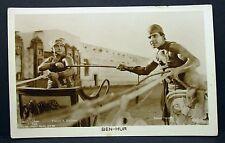 Novarro & Bushman - Actor Movie Photo - Film Autogramm-Karte AK (Lot-G-7605