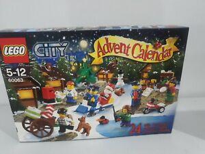 Lego City Advent calendar 60063 Genunie Factory Sealed