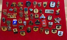 1984 los angeles olympics pin Lot - 48 Pins Total Includes Coke McDonald Rare