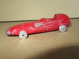 2Q 1957'S Corgi 150S England Vanwall Racing Car F1 Formula 1 Grand Price Red