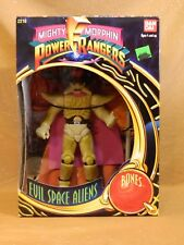 Mighty Morphin Power Rangers 1993 Evil Space Aliens Bones NISB